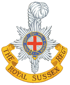 The Royal Sussex crest